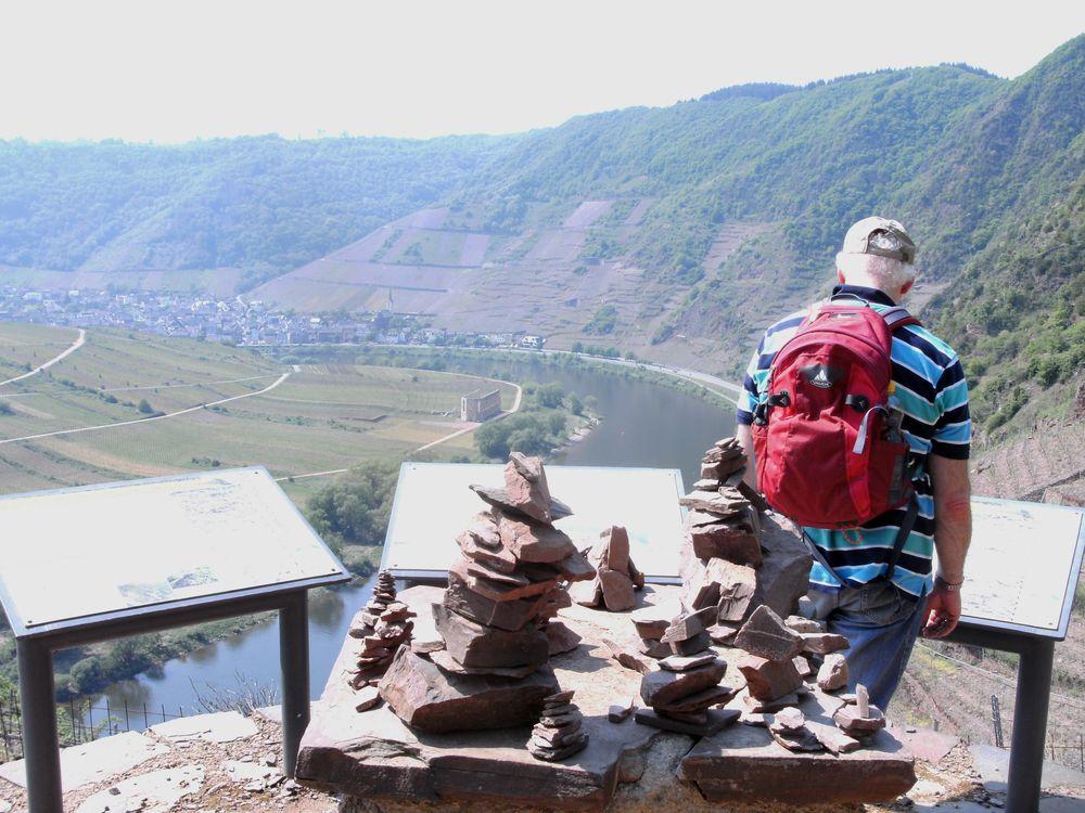 Klettersteig Calmont : Calmont klettersteig bremm mosel touristinformation